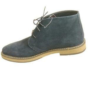 Joseph Abboud Navy Suede Chukka Boots Men's 10.5